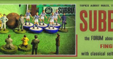 Il primo mondiale di calciotavolo – 1970