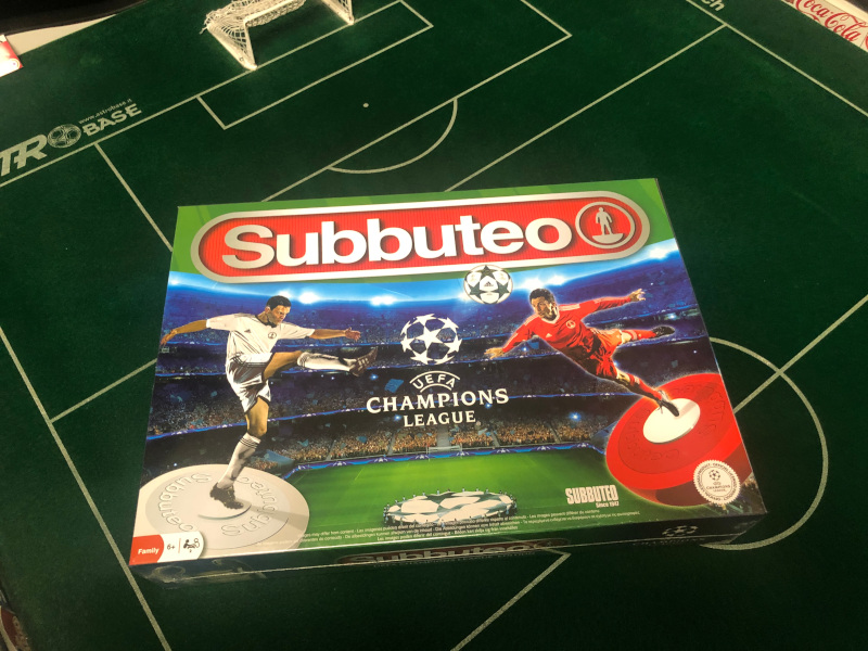 scatola subbuteo Champions League